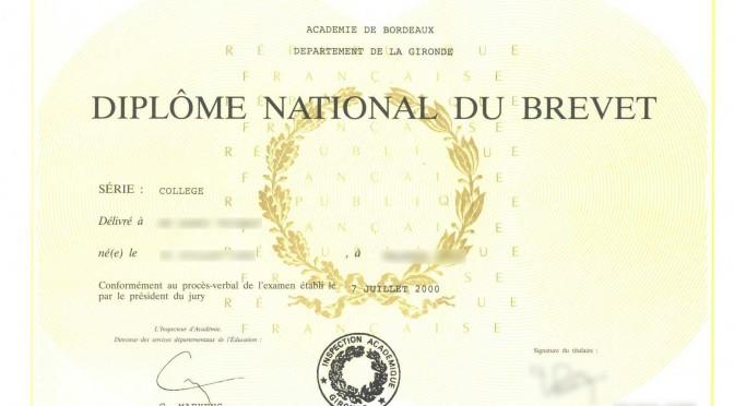 Résultats du brevet