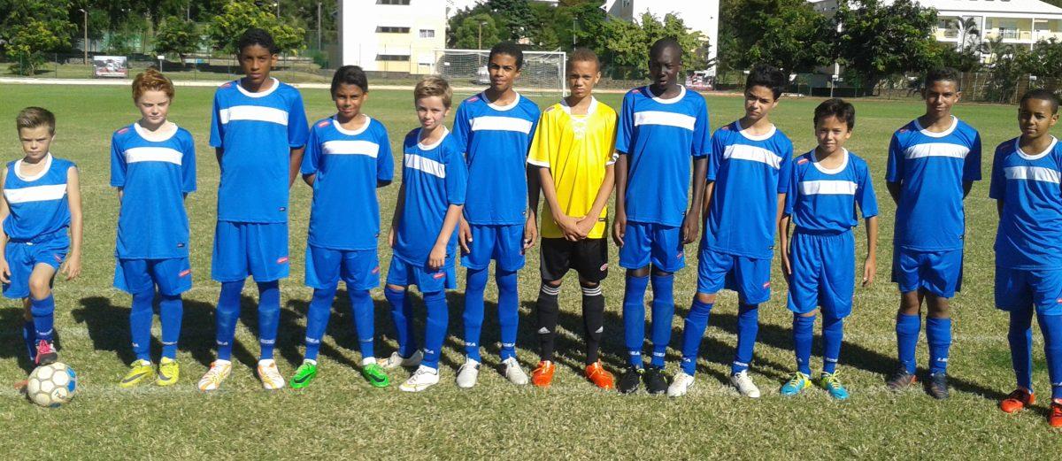 Les benjamins, champions d'académie de foot !