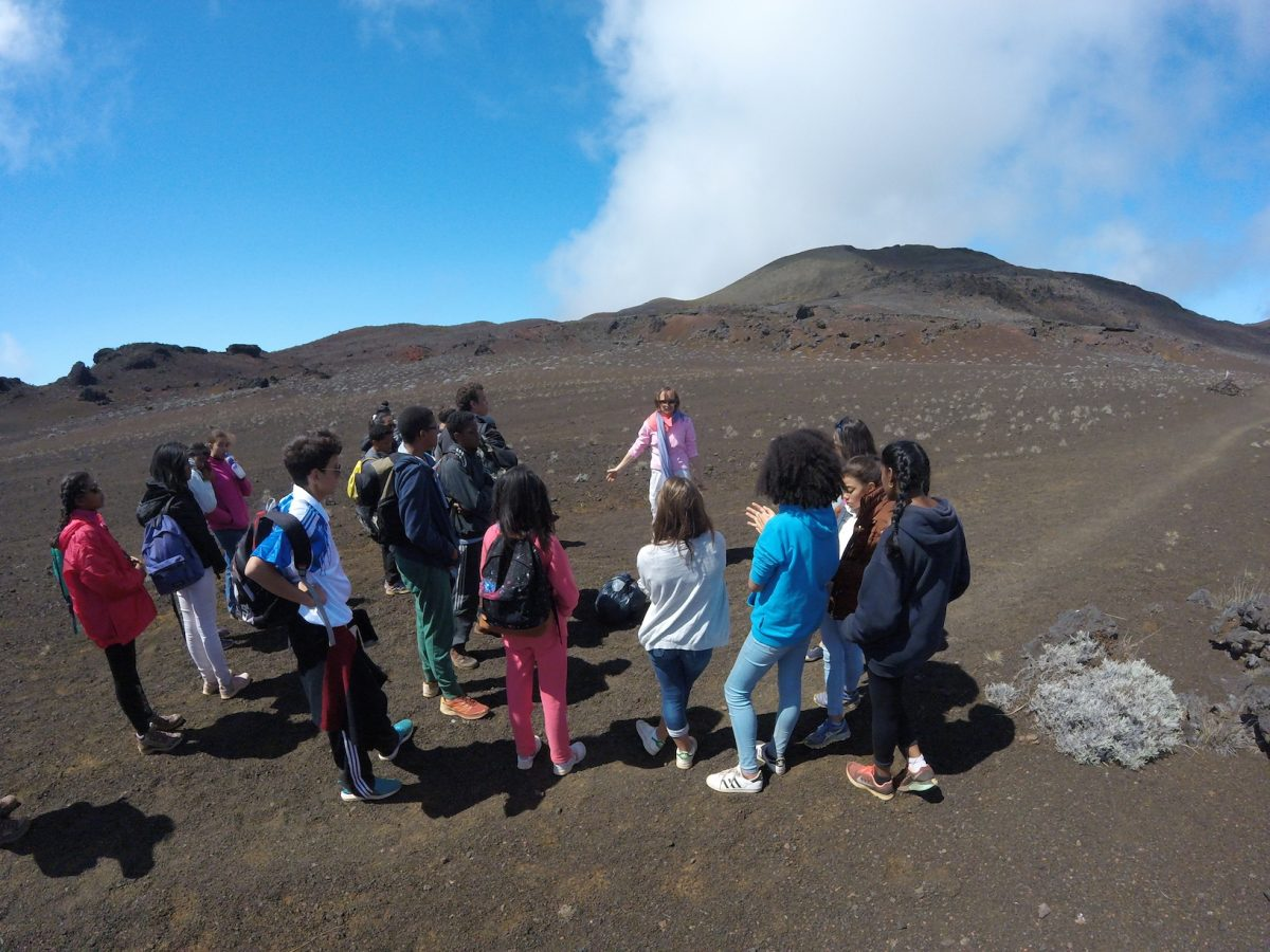 Les 4A au volcan